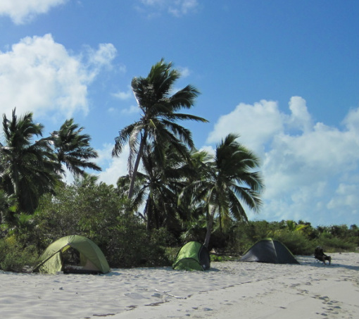 PictureCamping expedition,Exuma Cays,Bahamas